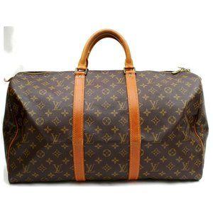 Auth Louis Vuitton Keepall 50 Travel Bag #3078L23